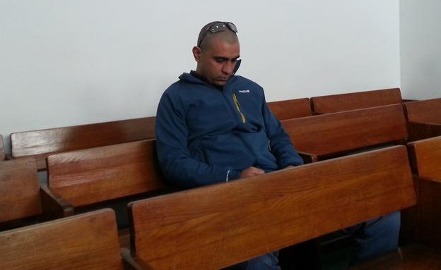 גזר דין לשוטר האלים (צילום: חדשות 2)