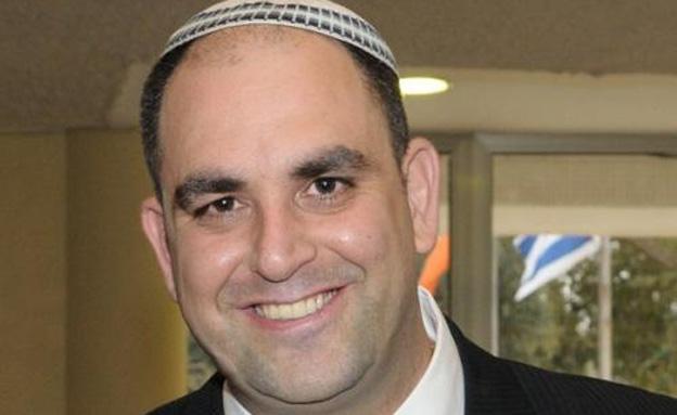 ראש עיריית לוד, יאיר רביבו (צילום: דוברות עיריית לוד)
