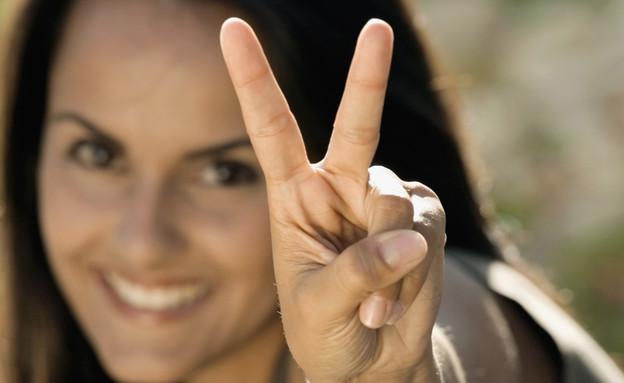 סימן וי (צילום: אימג'בנק / Thinkstock)