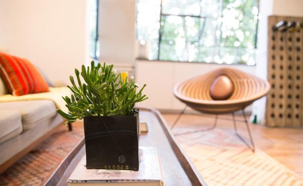 נטע פרץ, שולחן סלון (צילום: שרהלה גור-לביא)