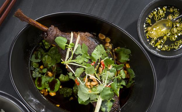 שוק ברווז בבישול ארוך של טאיזו (צילום: איליה מלניקוב)