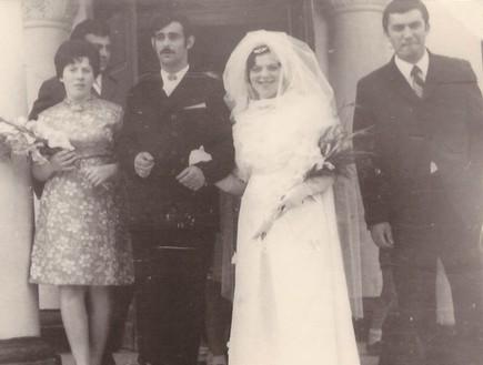 חתונה פניה (רוזה) זל ויאן וויזר (צילום: mako)
