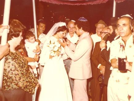 חתונת מירי יהודה (צילום: mako)