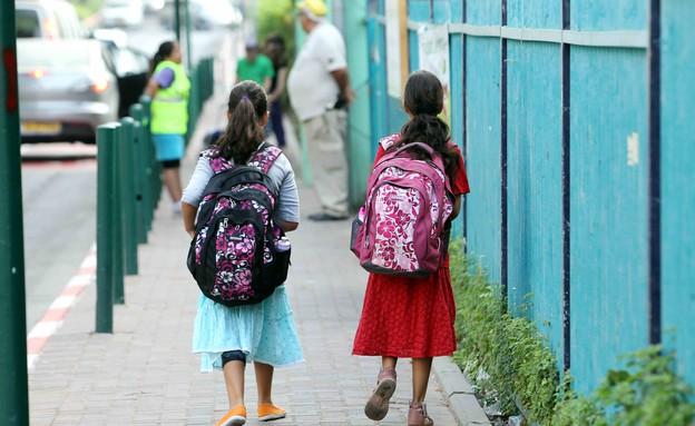 תלמידות בבית ספר דתי - אילוסטרציה (צילום: עודד קרני)