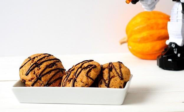 עוגיות דלעת ושוקולד צ'יפס (צילום: שרית נובק - מיס פטל, אוכל טוב)