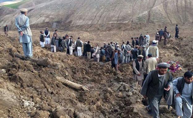 יותר מ-2000 הרוגים במפולת בוץ באפגניסטן (צילום: AP)
