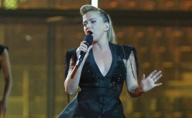 מיי פיינגולד בחזרה שניה באירוויזיון (צילום: eurovision.tv, EBU)