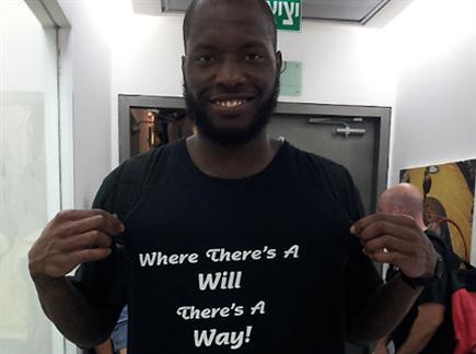 ג'קסון והחולצה. ימצאו דרך? צפו בתקציר (צילום: ספורט 5)