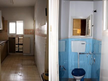 בתים ישראלים - שירותים עבר (צילום: מרב שדה)