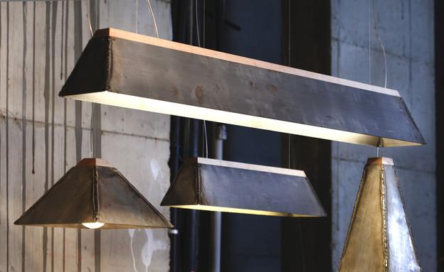 מעצבים עצמאות, איתי בר און, מנורות תלויות (צילום: יעל אנגלהארט)