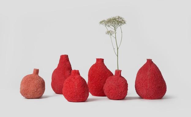 מעצבים עצמאות, מיכל פרגו - קולקציית קורל אדום1 (צילום: PCM Design)