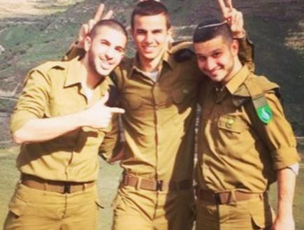 """לידור סולטן, אמיר אלאייב (צילום: באדיבות החיילים, המשפחות ודובר צה""""ל)"""