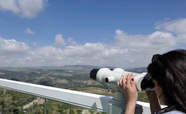 אהבה בגבהים2, צלם אמנון אוזן, צימר על ההר (צילום: אמנון אוזן)