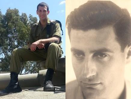 """יובל פלד, בן עמי פכטר (צילום: באדיבות החיילים, המשפחות ודובר צה""""ל)"""