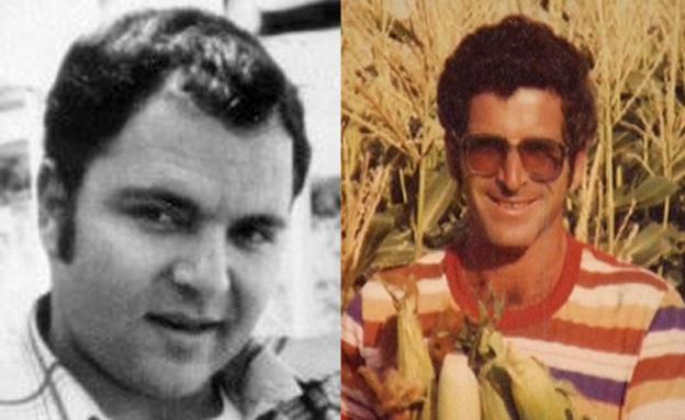 """אודי צימרינג ז""""ל (משמאל) ואבי אושר ז""""ל"""