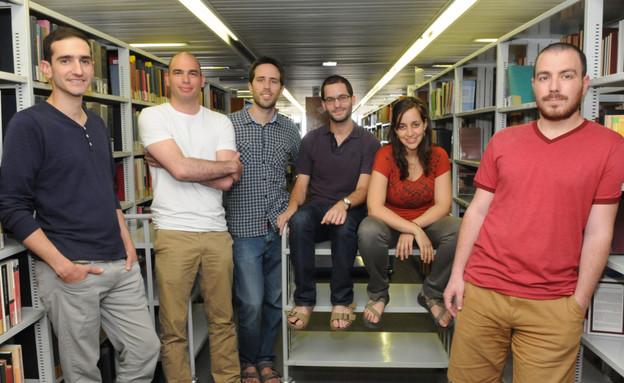 סטודנטים לכלכלה מאוניברסיטת חיפה (צילום: רמי שלוש, TheMarker)