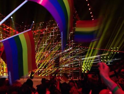 אירוויזיון 2014 הקהל הזמן הופעת רוסיה (צילום: דקל בן-אבי )