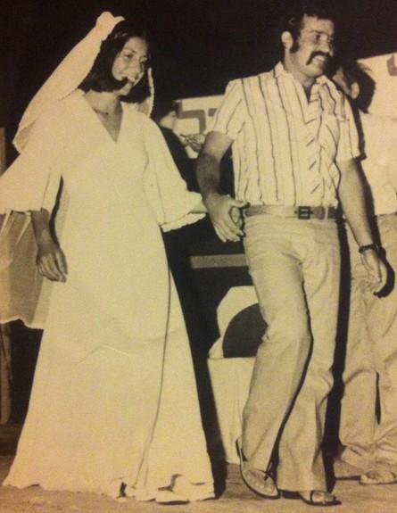 הזוג שטיינברג מקיבוץ מעגן (צילום: mako)