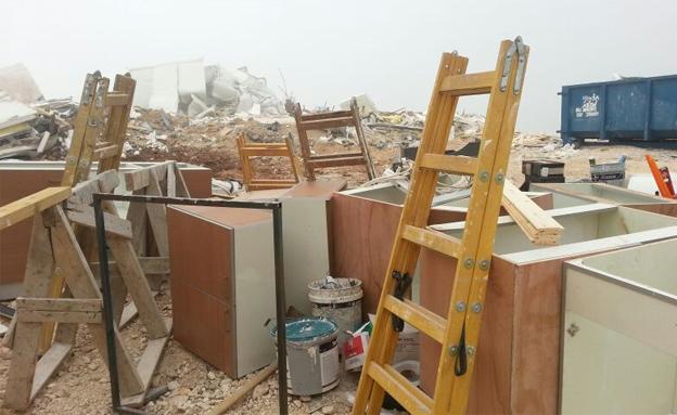 פינוי בית ביצהר (צילום: חדשות 2)