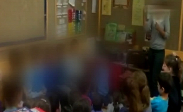 צפיפות בכיתות (צילום: חדשות 2)