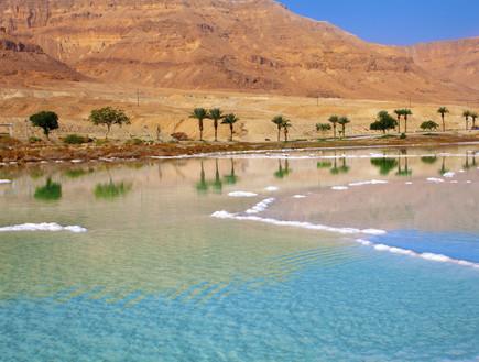 תיירות בירדן - ים המלח מהצד הירדני
