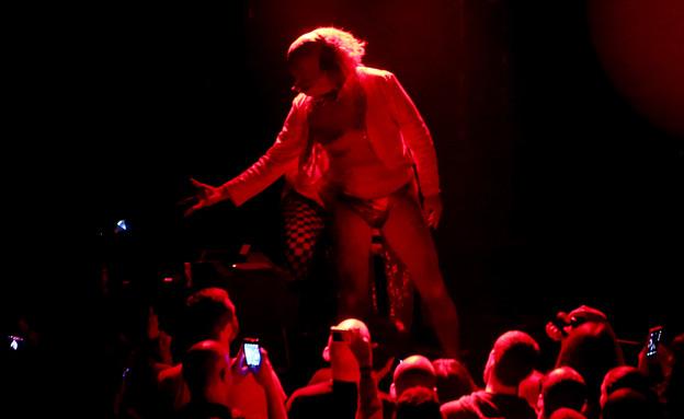 הרזידנטס בהופעה בבארבי (צילום: אורית פניני)