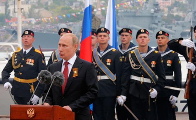 פניית הפרסה של פוטין (צילום: רויטרס)