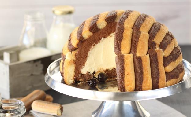 בומב שוקולד, מסקרפונה ודובדבני אמרנה  (צילום: חן שוקרון, Bonomi, טלוויזיה במיטבה)