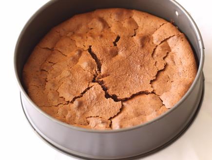 עוגת מוס שוקולד וחמאת בוטנים