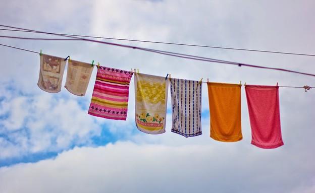 חבלי כביסה בקורפו - בכל מקום - קורפו (צילום: דורון סרי, אשת טורס)