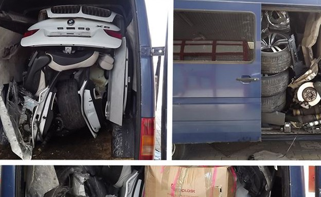 ב.מ.וו X6 בתוך רכב מסחרי