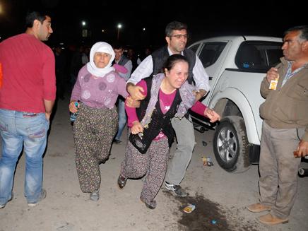 התאונה הקשה בתולדות טורקיה (צילום: רויטרס)