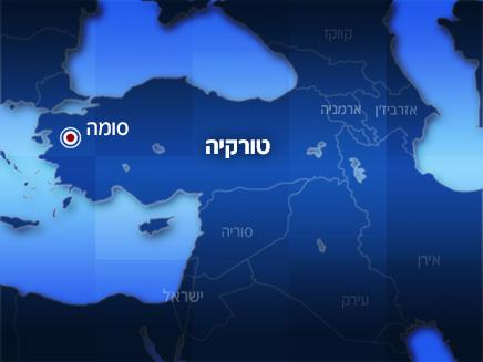 מפת אזור האסון (צילום: חדשות 2)