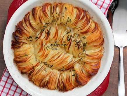 מאפה תפוחי אדמה פריך (צילום: עידית נרקיס כ