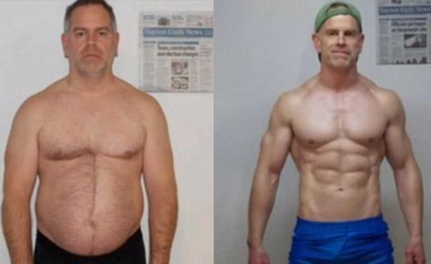 אבא הפך לשרירן (צילום: bodybuilding.com)