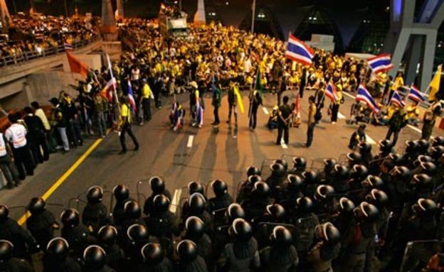 נמשכים העימותים בתאילנד. ארכיון (צילום: רויטרס)