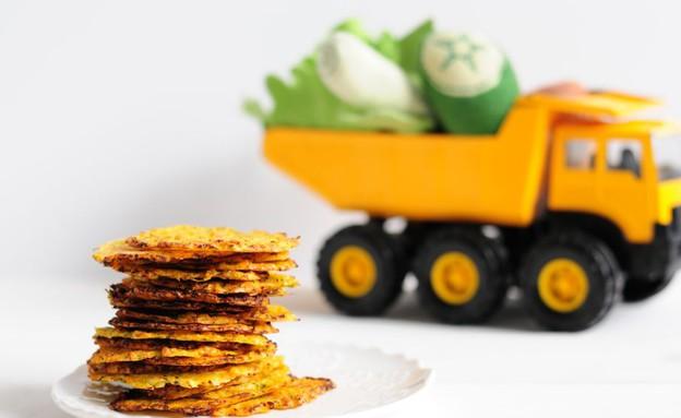 קריספונים ירקות ופרמזן (צילום: שרית נובק - מיס פטל, אוכל טוב)