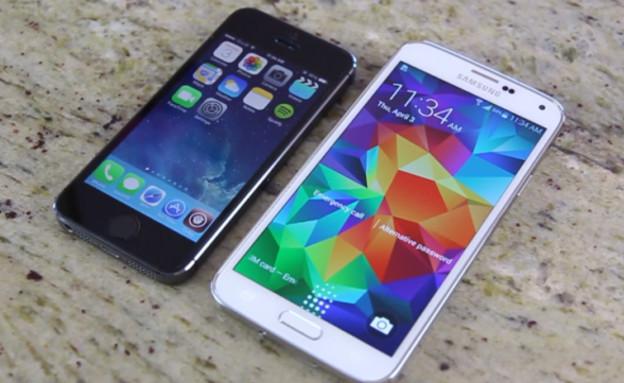 גלקסי S5, אייפון 5s