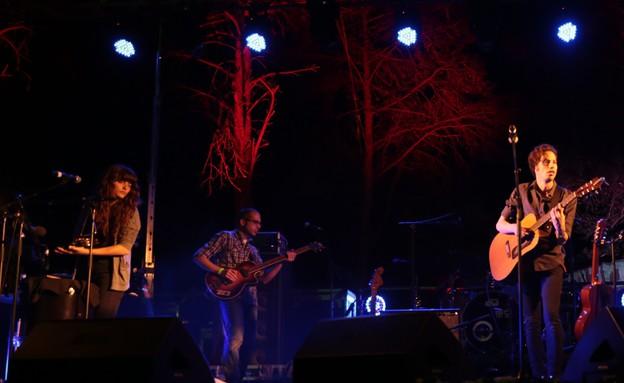 פסטיבל יערות מנשה, עמית ארז והסיקרט סי (צילום: gaya's music photos)