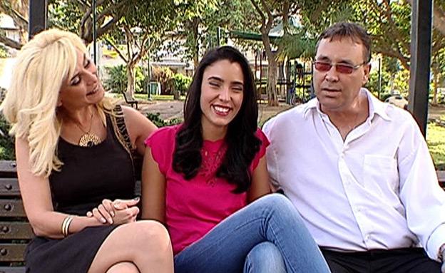 מור, אילנה ומארק ממן (צילום: חדשות 2)