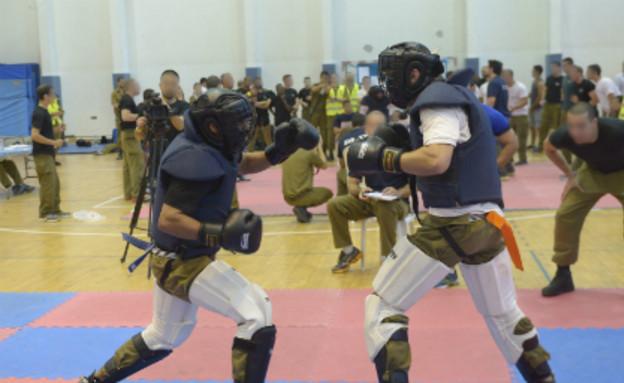 """תחרות קרב מגע (צילום: עומר סלע, דובר צה""""ל)"""
