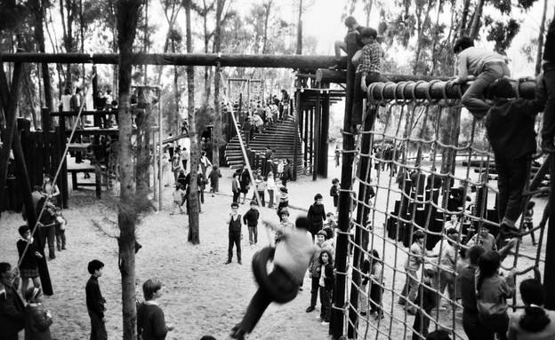 גן ההרפתקאות הירקון,גדעון שריג 1971 (צילום: ארכיון עיריית תל אביב)