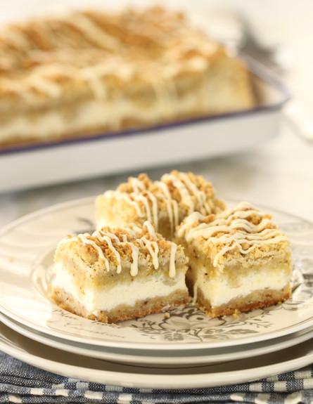 עוגת גבינה, שוקולד לבן ופיסטוק - גובה