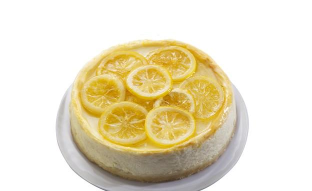 עוגת ריקוטה ולימון  (צילום: דן לב, גד, מחלבות גד)