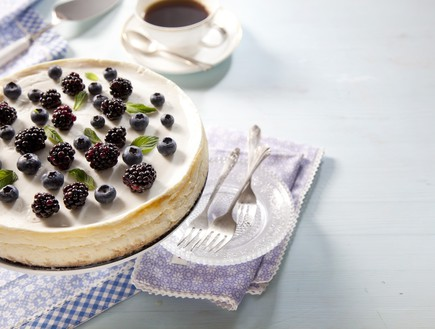 עוגת ריקוטה ויוגורט