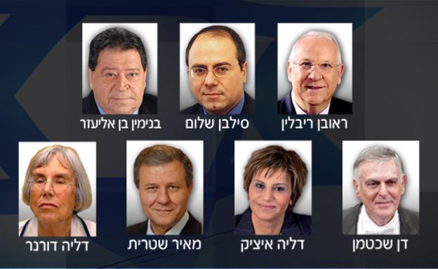 מי מהם ייבחר לאזרח מספר 1? (צילום: חדשות 2)