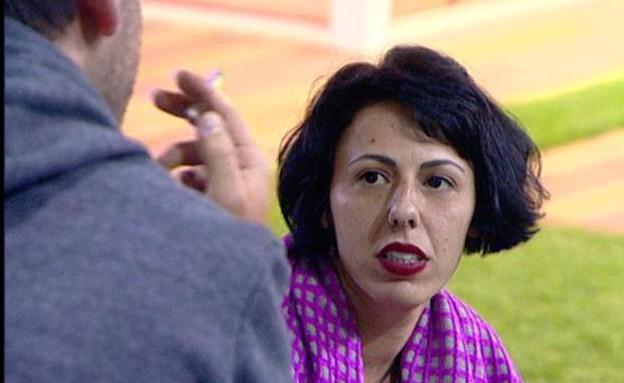 אורטל בן דיין בשיחה מעמיקה עם יאיר (תמונת AVI: mako)