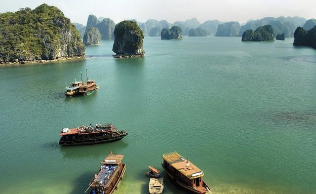 וייטנאם, היונג ביי סירות (צילום: tbradford, Thinkstock)