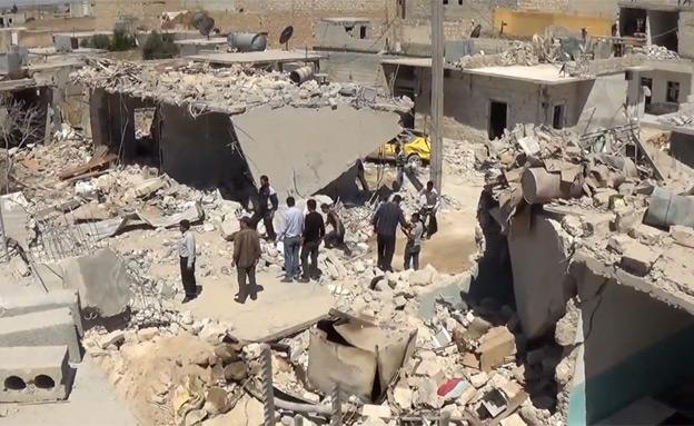 סוריה - יומן מלחמה (צילום: חדשות 2)