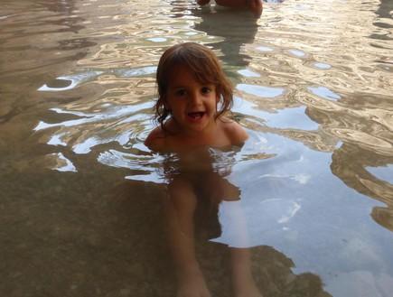 סופש ילדים, עין בוקק (צילום: ענת אופיר)